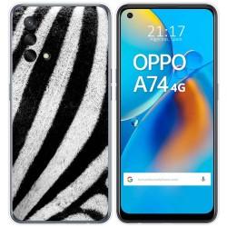 Funda Gel Tpu para Oppo A74 4G diseño Animal 02 Dibujos