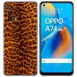 Funda Gel Tpu para Oppo A74 4G diseño Animal 03 Dibujos
