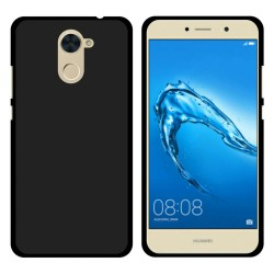 Funda Gel Tpu para Huawei Y7 Color Negra