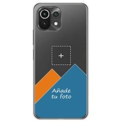 Personaliza tu Funda Doble Pc + Tpu 360 con tu Fotografia para Xiaomi Mi 11 Lite 4G / 5G dibujo personalizada