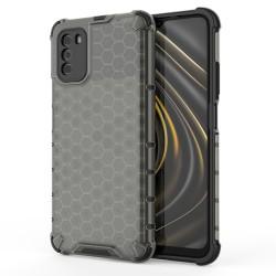 Funda Tipo Honeycomb Armor (Pc+Tpu) Transparente para Xiaomi POCO M3 / Redmi 9T