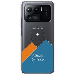 Personaliza tu Funda Doble Pc + Tpu 360 con tu Fotografia para Xiaomi Mi 11 Ultra 5G dibujo personalizada
