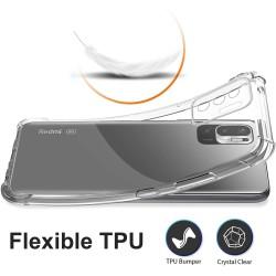 Funda Gel Tpu Antigolpes Transparente para Xiaomi Redmi Note 10 5G / POCO M3 Pro 5G