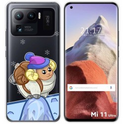 Funda Gel Transparente para Xiaomi Mi 11 Ultra 5G diseño Cabra Dibujos
