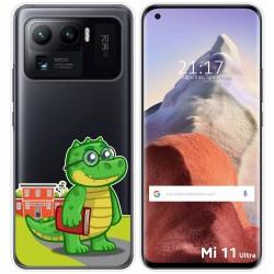 Funda Gel Transparente para Xiaomi Mi 11 Ultra 5G diseño Coco Dibujos