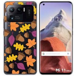 Funda Gel Transparente para Xiaomi Mi 11 Ultra 5G diseño Otoño Dibujos