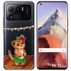 Funda Gel Transparente para Xiaomi Mi 11 Ultra 5G diseño Suricata Dibujos