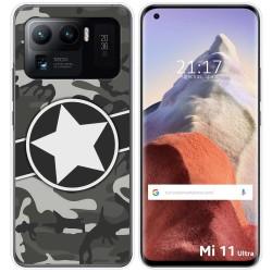 Funda Gel Tpu para Xiaomi Mi 11 Ultra 5G diseño Camuflaje 02 Dibujos