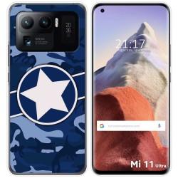 Funda Gel Tpu para Xiaomi Mi 11 Ultra 5G diseño Camuflaje 03 Dibujos