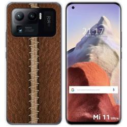 Funda Gel Tpu para Xiaomi Mi 11 Ultra 5G diseño Cuero 01 Dibujos