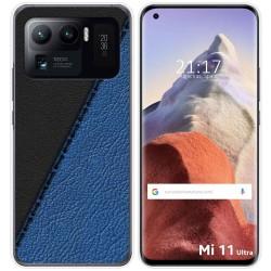 Funda Gel Tpu para Xiaomi Mi 11 Ultra 5G diseño Cuero 02 Dibujos