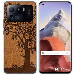 Funda Gel Tpu para Xiaomi Mi 11 Ultra 5G diseño Cuero 03 Dibujos