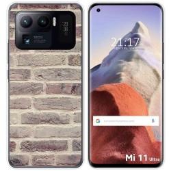 Funda Gel Tpu para Xiaomi Mi 11 Ultra 5G diseño Ladrillo 01 Dibujos