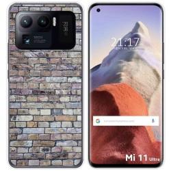 Funda Gel Tpu para Xiaomi Mi 11 Ultra 5G diseño Ladrillo 02 Dibujos