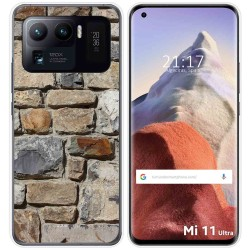 Funda Gel Tpu para Xiaomi Mi 11 Ultra 5G diseño Ladrillo 03 Dibujos