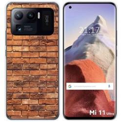 Funda Gel Tpu para Xiaomi Mi 11 Ultra 5G diseño Ladrillo 04 Dibujos