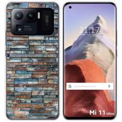 Funda Gel Tpu para Xiaomi Mi 11 Ultra 5G diseño Ladrillo 05 Dibujos
