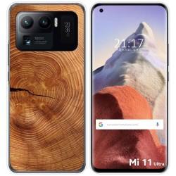 Funda Gel Tpu para Xiaomi Mi 11 Ultra 5G diseño Madera 04 Dibujos