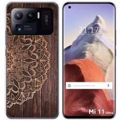 Funda Gel Tpu para Xiaomi Mi 11 Ultra 5G diseño Madera 06 Dibujos