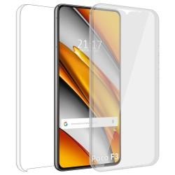 Funda Doble Transparente Pc + Tpu Full Body 360 para Xiaomi POCO F3 5G / Mi 11i 5G