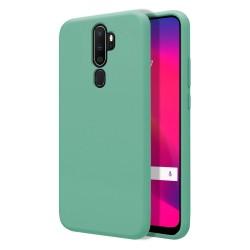 Funda Silicona Líquida Ultra Suave para Oppo A5 2020 / A9 2020 color Verde