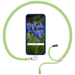 Adaptador Universal con Cordón para Funda de Móvil Colgante color Verde