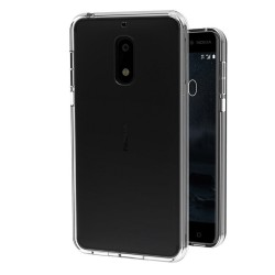 Funda Gel Tpu Fina Ultra-Thin 0,3mm Transparente para Nokia 6