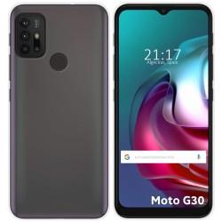 Funda Silicona Gel TPU Transparente para Motorola Moto G10 / G30