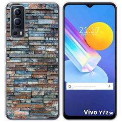 Funda Gel Tpu para Vivo Y72 5G diseño Ladrillo 05 Dibujos