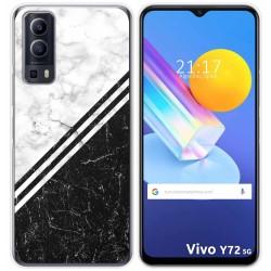 Funda Gel Tpu para Vivo Y72 5G diseño Mármol 01 Dibujos