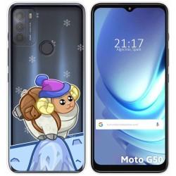 Funda Gel Transparente para Motorola Moto G50 5G diseño Cabra Dibujos