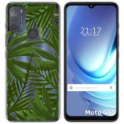 Funda Gel Transparente para Motorola Moto G50 5G diseño Jungla Dibujos