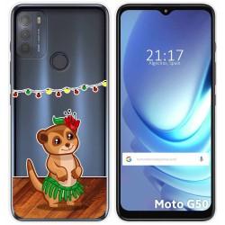 Funda Gel Transparente para Motorola Moto G50 5G diseño Suricata Dibujos