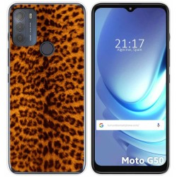 Funda Gel Tpu para Motorola Moto G50 5G diseño Animal 03 Dibujos