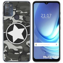 Funda Gel Tpu para Motorola Moto G50 5G diseño Camuflaje 02 Dibujos