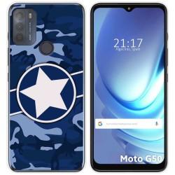 Funda Gel Tpu para Motorola Moto G50 5G diseño Camuflaje 03 Dibujos
