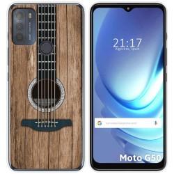 Funda Gel Tpu para Motorola Moto G50 5G diseño Madera 11 Dibujos