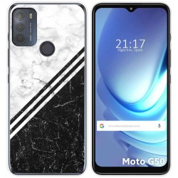 Funda Gel Tpu para Motorola Moto G50 5G diseño Mármol 01 Dibujos