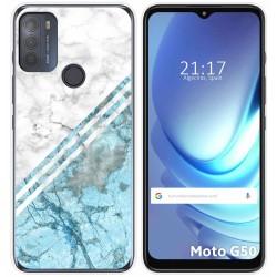 Funda Gel Tpu para Motorola Moto G50 5G diseño Mármol 02 Dibujos
