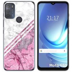 Funda Gel Tpu para Motorola Moto G50 5G diseño Mármol 03 Dibujos