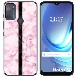 Funda Gel Tpu para Motorola Moto G50 5G diseño Mármol 04 Dibujos