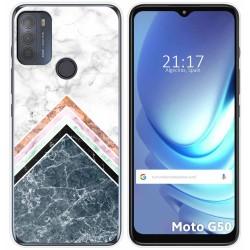 Funda Gel Tpu para Motorola Moto G50 5G diseño Mármol 05 Dibujos