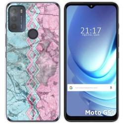 Funda Gel Tpu para Motorola Moto G50 5G diseño Mármol 08 Dibujos