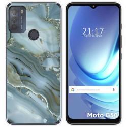 Funda Gel Tpu para Motorola Moto G50 5G diseño Mármol 09 Dibujos