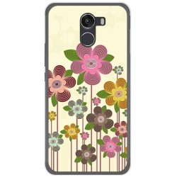 Funda Gel Tpu para Wileyfox Swift 2 Diseño Primavera En Flor Dibujos