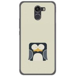 Funda Gel Tpu para Wileyfox Swift 2 Diseño Pingüino Dibujos