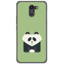 Funda Gel Tpu para Wileyfox Swift 2 Diseño Panda Dibujos