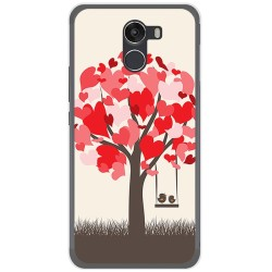 Funda Gel Tpu para Wileyfox Swift 2 Diseño Pajaritos Dibujos