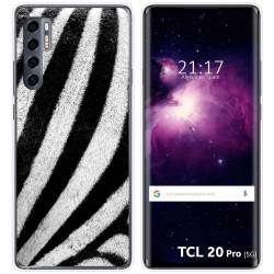 Funda Gel Tpu para TCL 20 Pro 5G diseño Animal 02 Dibujos
