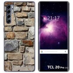 Funda Gel Tpu para TCL 20 Pro 5G diseño Ladrillo 03 Dibujos